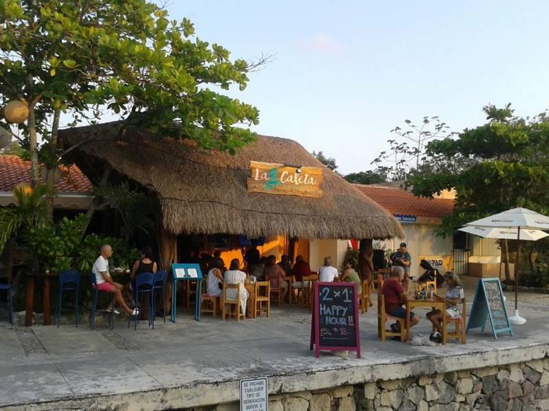 la caleta restaurant puerto aventuras
