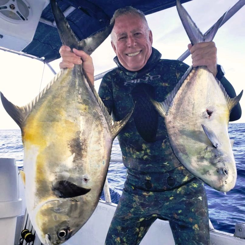 full day spearfishng private trip